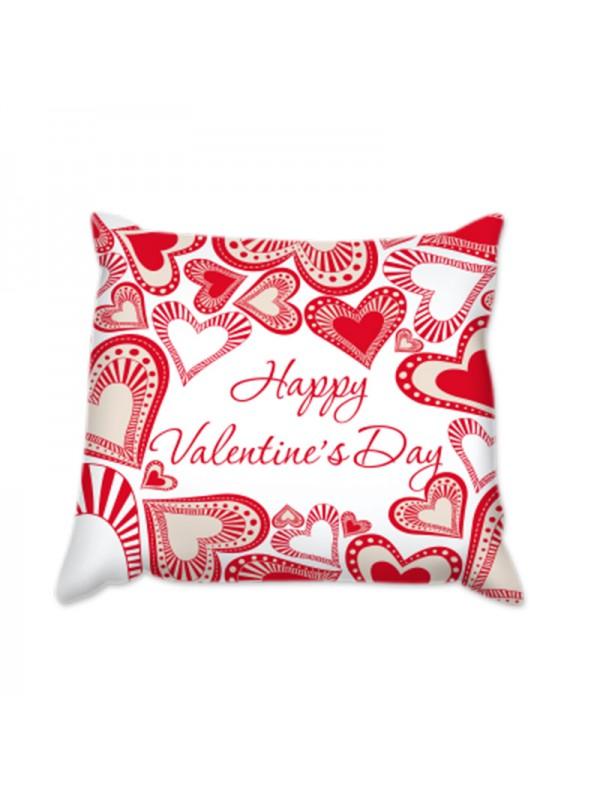 Възглавница за Свети Валентин - Сърца