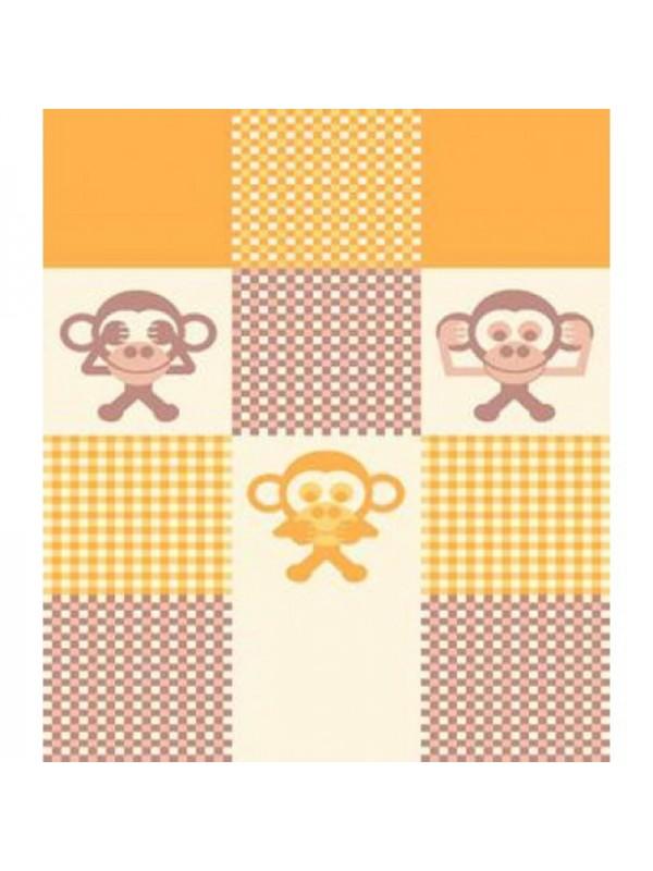 Бебешко Одеяло в Слънчеви Нюанси