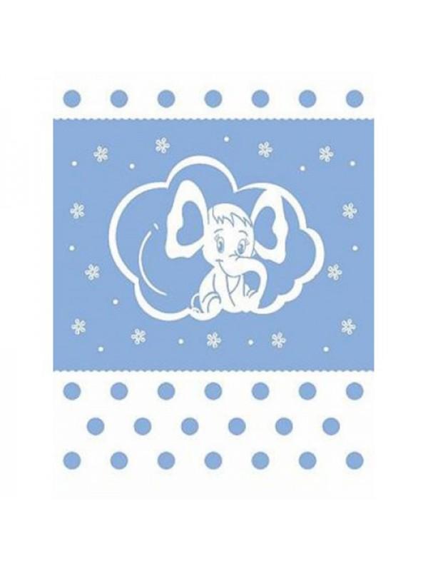 Синьо Одеяло за Бебета