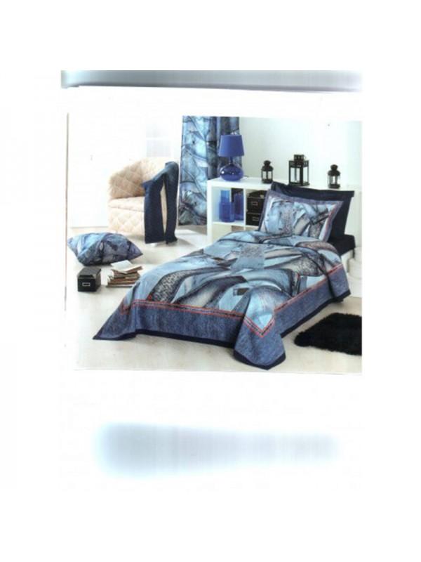Модерна Покривка за легло - Дънки