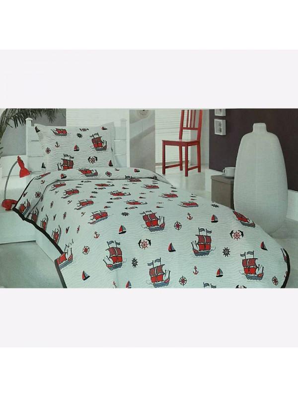 Покривка за легло - Кораби