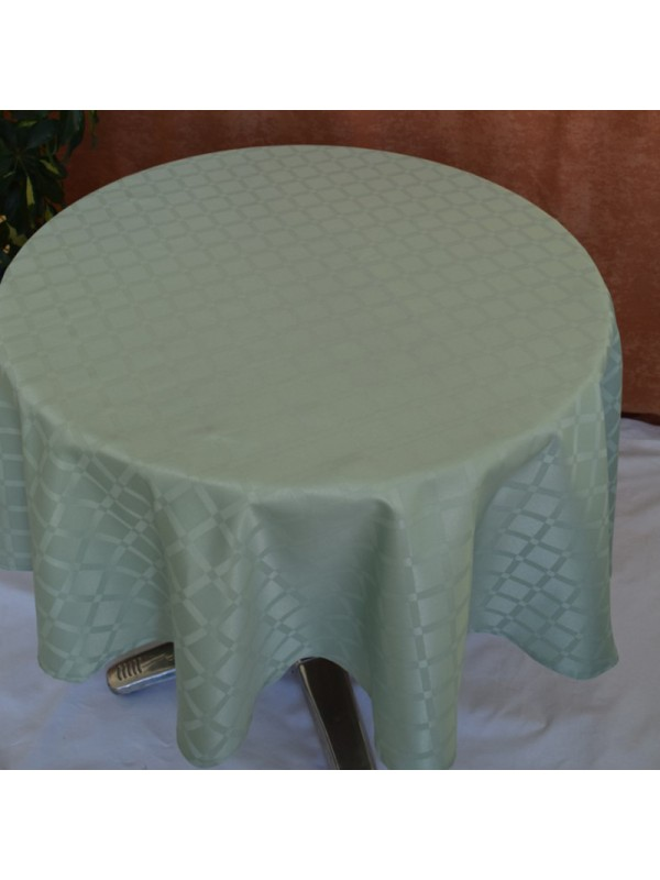 Покривка за маса в Резеда зелено от полиестер - 10