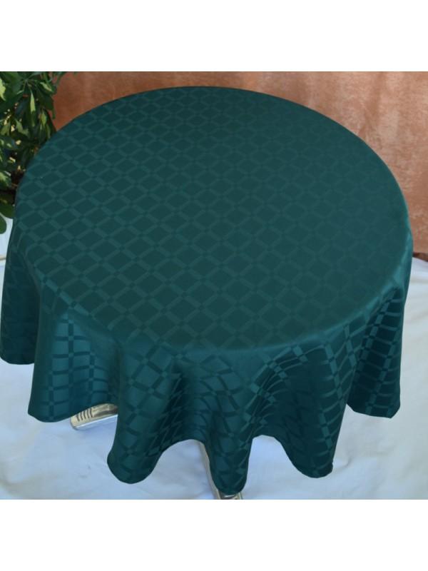 Маслено зелена Покривка за маса от полиестер - 11