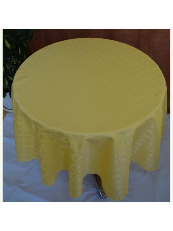 Жълта Покривка за маса от Полиестер