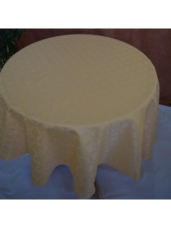 Жълта Покривка за маса от Полиестер - 04