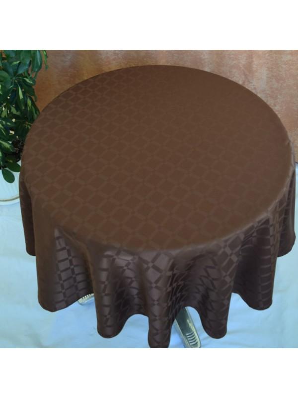 Кафява Покривка за маса от полиестер  - 18