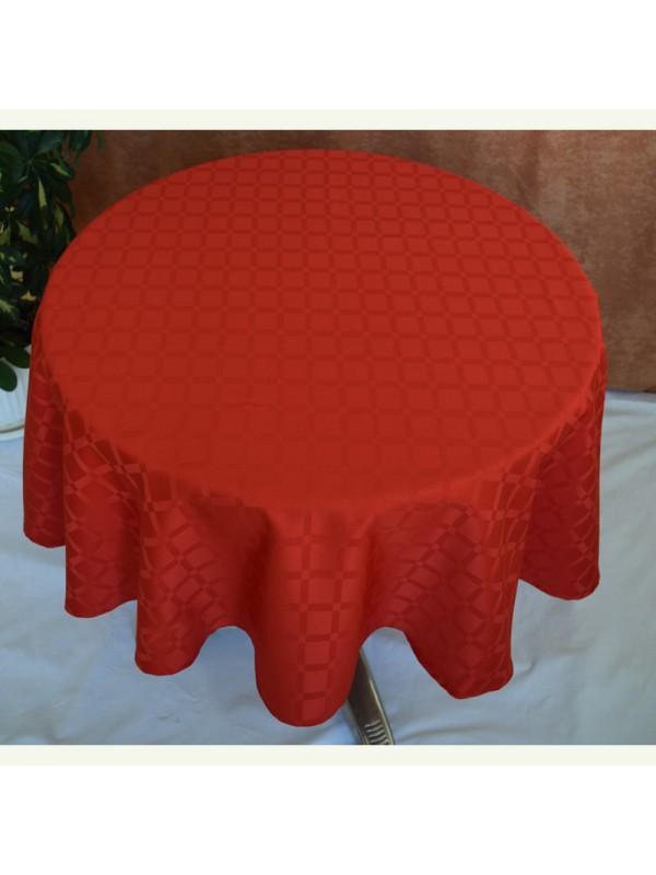 Червена Покривка за маса от Полиестер  - 15