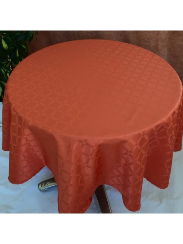Покривка за маса в цвят Брик от Полиестер - 22