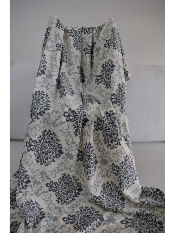Поларено одеяло Сиво