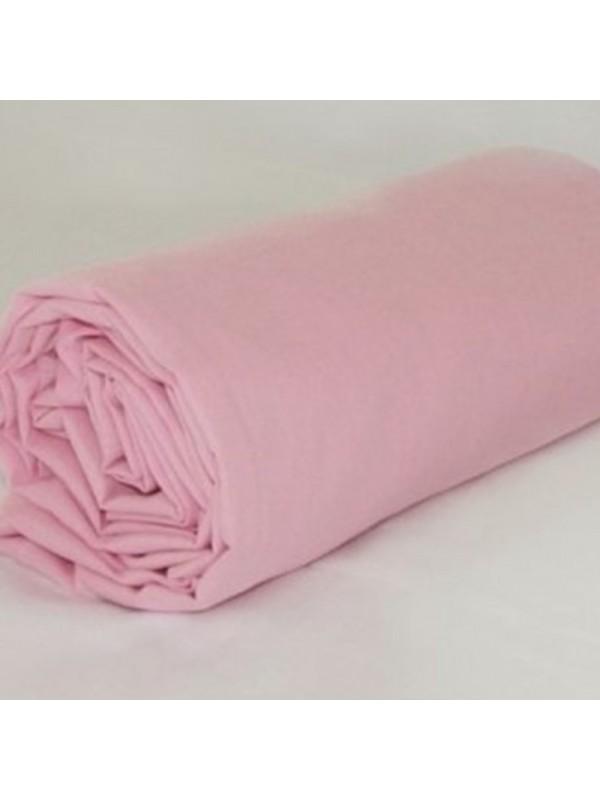 Розов чаршаф с ластик