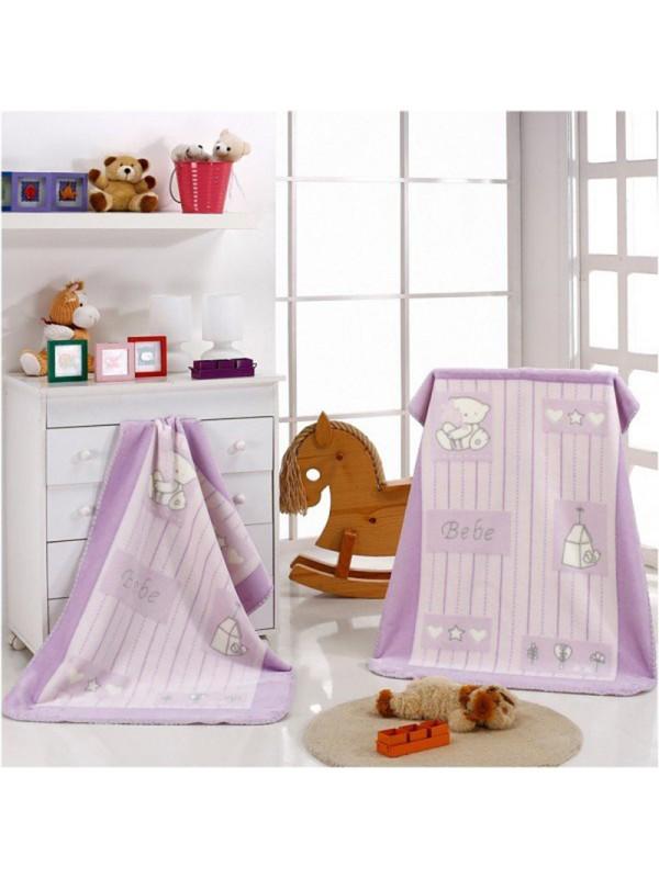 Бебешко одеяло с Акрилни Нишки - Piccola 725