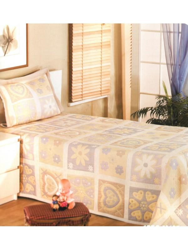 Покривка за легло - Сърца