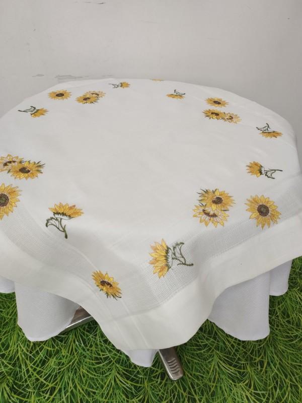 Каре за маса с бродерия - Слънчогледи
