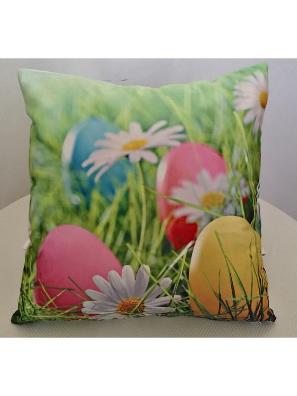 Великденска Калъфка за Възглавница - Яйчица