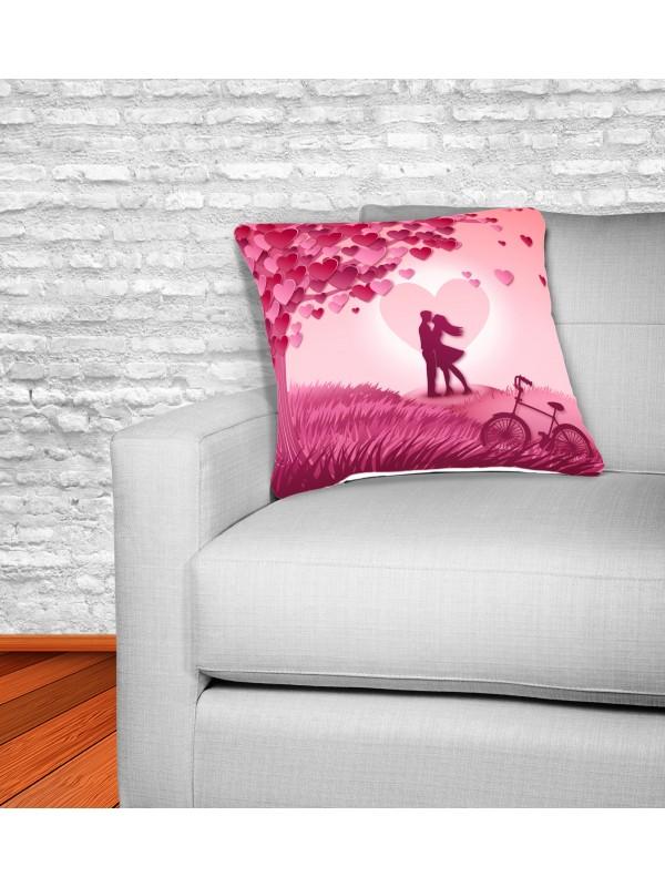Декоративна Възглавница - Влюбена двойка