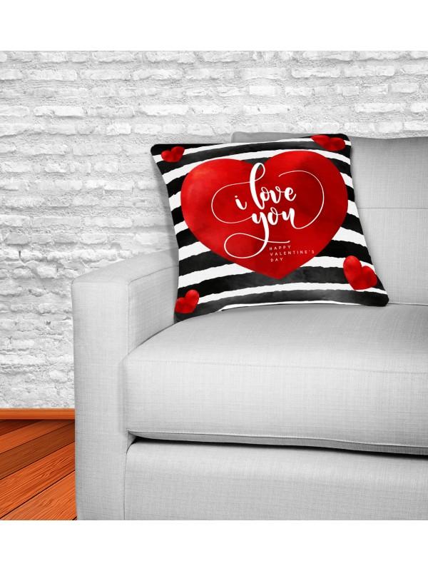 Декоративна възглавница - Обичам те