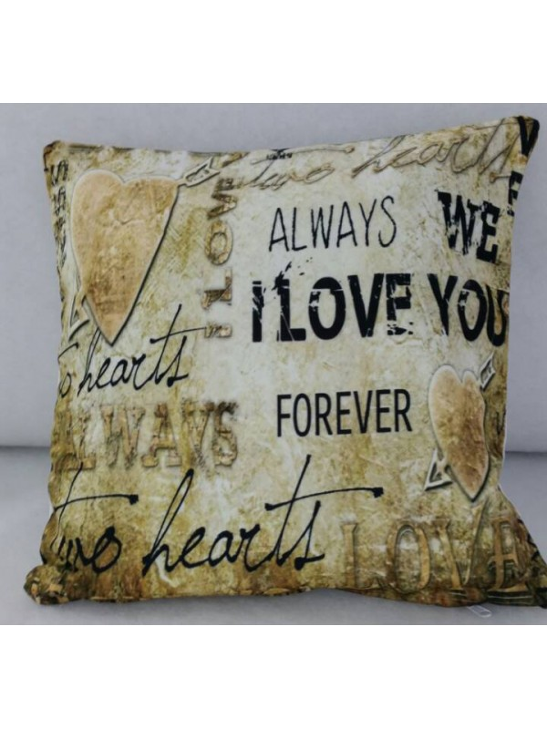 Калъфка за декоративна възглавница - Vintage Love