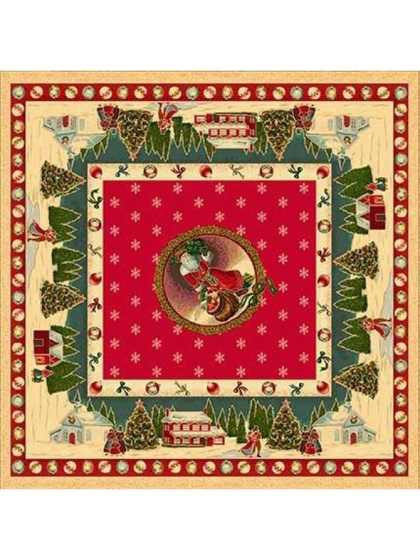 Коледно Каре за Маса - Дядо Коледа Пристига