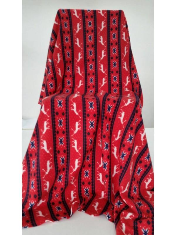 Поларено одеяло Червено
