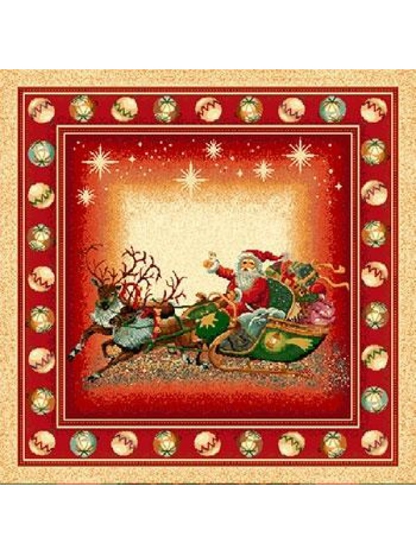 Коледна калъфка - Дядо Коледа Шейна с Подаръци
