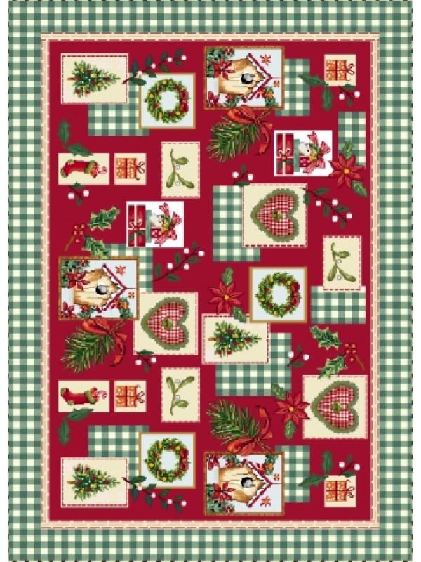 Коледен Тишлайфер - Коледно Настроение Зелен Кант