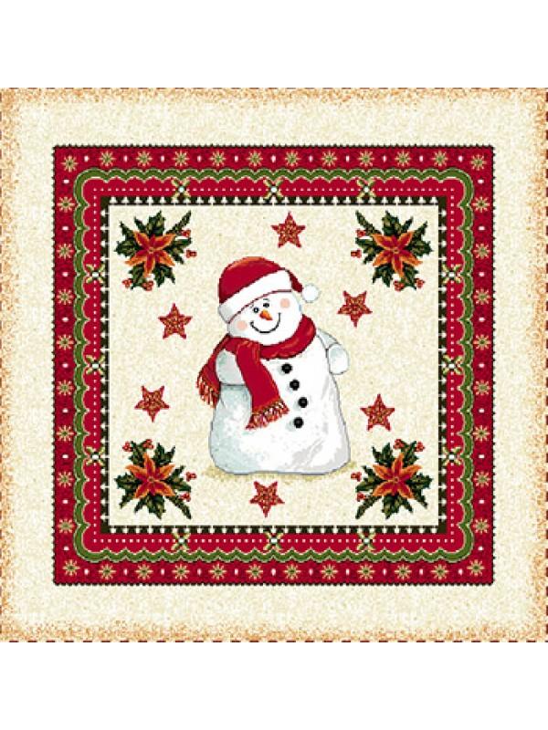 Коледна калъфка - Снежен Човек