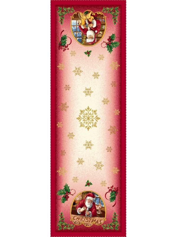 Коледен Тишлайфер - Дядо Коледа Снежинки