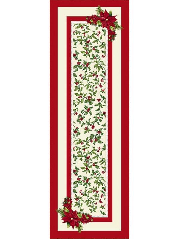 Коледен Тишлайфер - Коледна Звезда Червен Кант