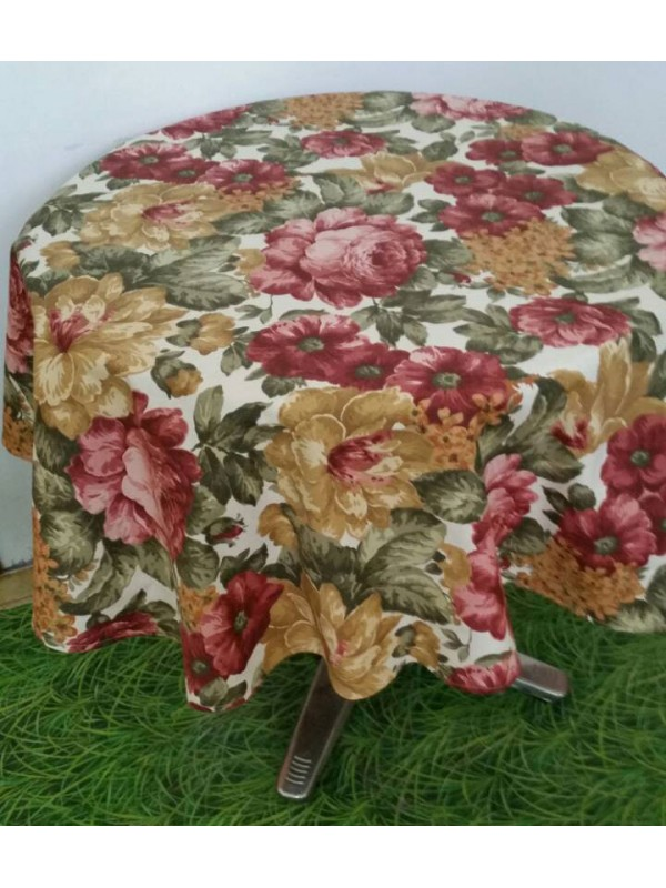 Красива Покривка за маса - Цветя