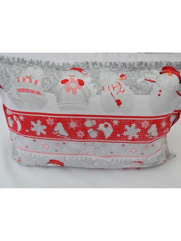 Коледна калъфка - Снежко