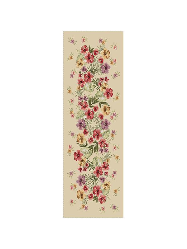 Тишлайфер - Тропически Цветя 40х140см