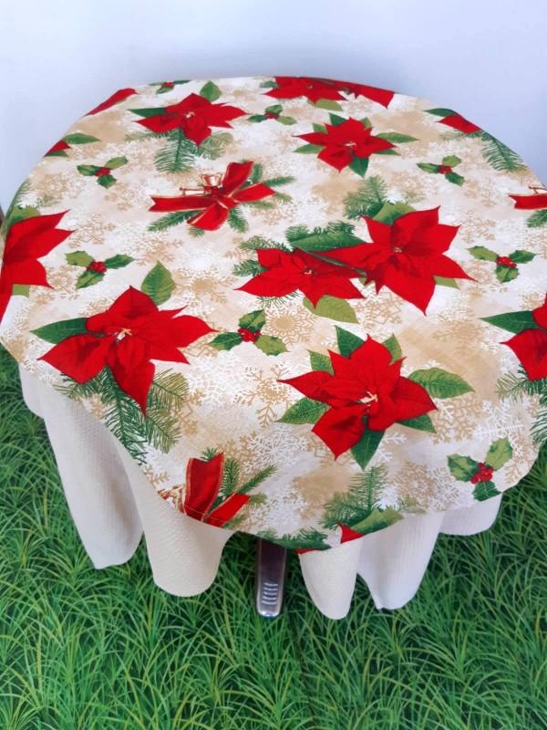 Коледна Покривка Голяма Коледна Звезда