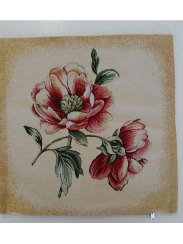 Жакардова Декоративна калъфка - Цвете