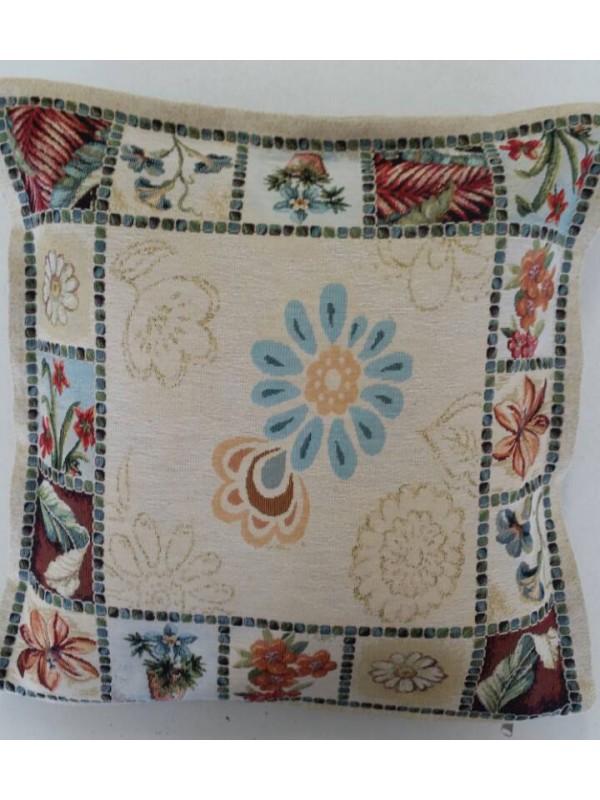 Жакардова Декоративна калъфка - Различни Цветя